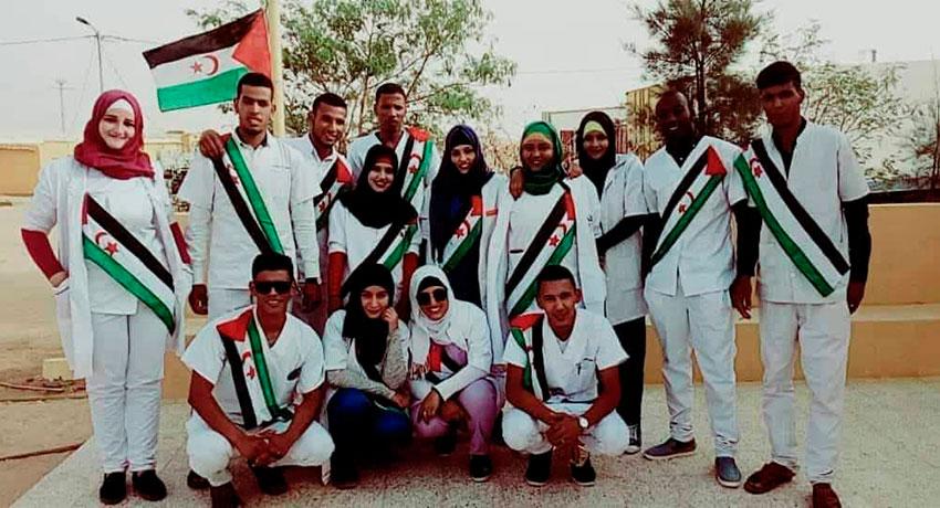 Enfermeras del Sáhara