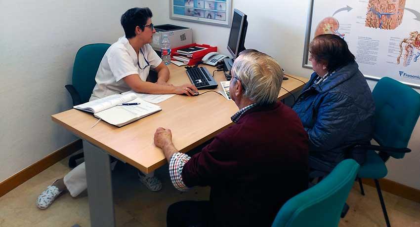Consulta de Enfermería de Hemodiálisis del Hospital de Calahorra