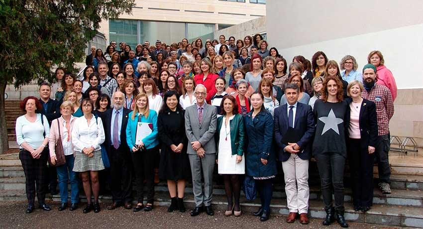 Enfermeras de los centros de excelencia de Lleida