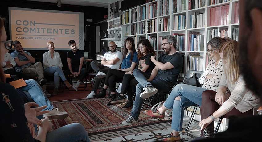 Reunión del proyecto Concomitentes