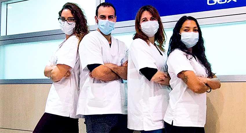 Equipo de enfermería Nus Agency
