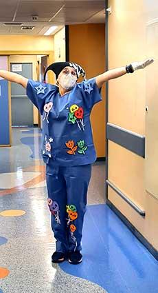 Isabel Orta, enfermera del Hospital de Valme