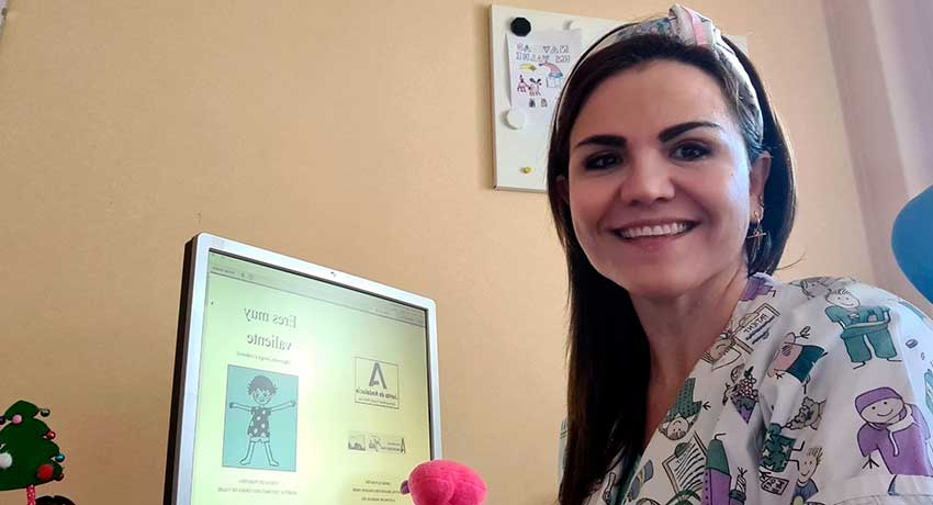 Rocío Cordero, supervisora de Enfermería en el Servicio de Pediatría del Hospital de Valme