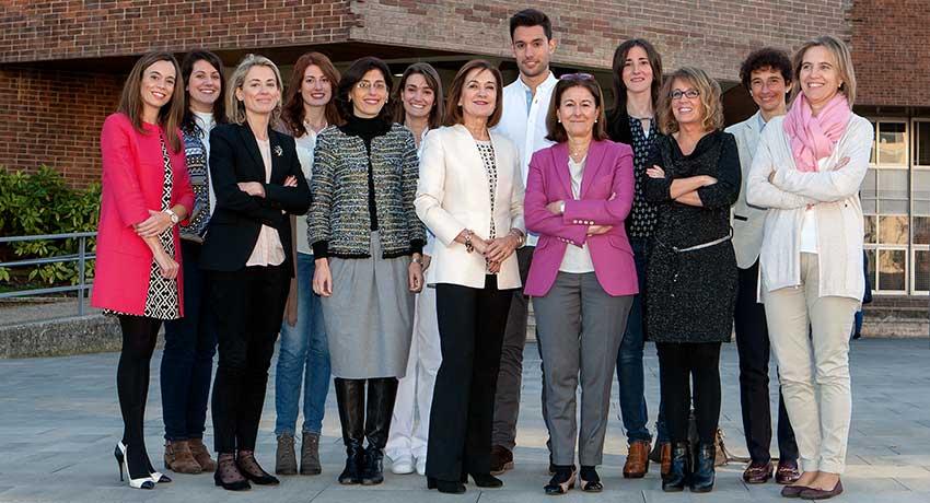 Equipo del Área de investigación de la Facultad de Enfermería.de Universidad de Navarra: Innovación para un cuidado centrado en la persona