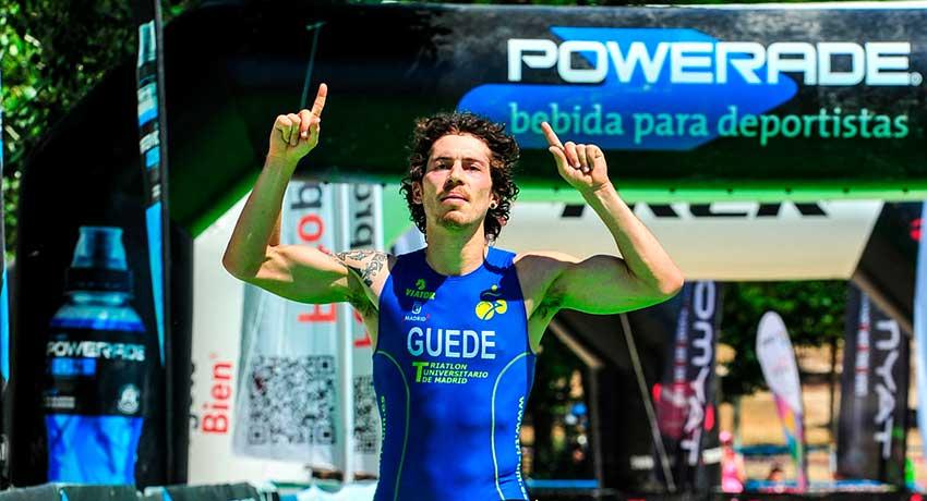 Arturo Guede, triatleta