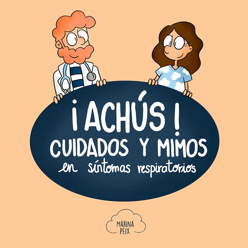 Marina Peix, autora de ¡Achús! Cuidados y Mimos