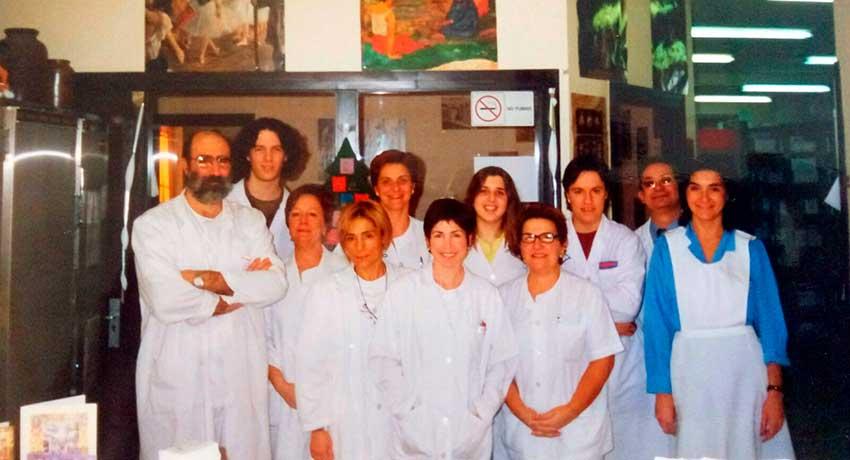 Equipo de profesionales sanitarios del Hospital de La Rioja