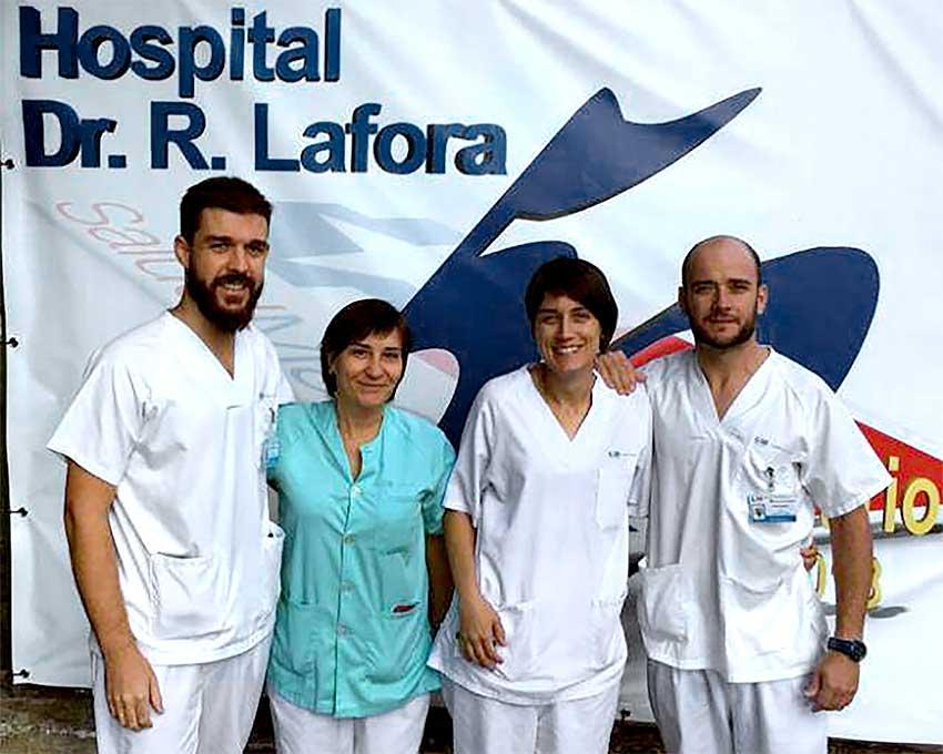 Fisioterapeutas del Rodríguez Lafora