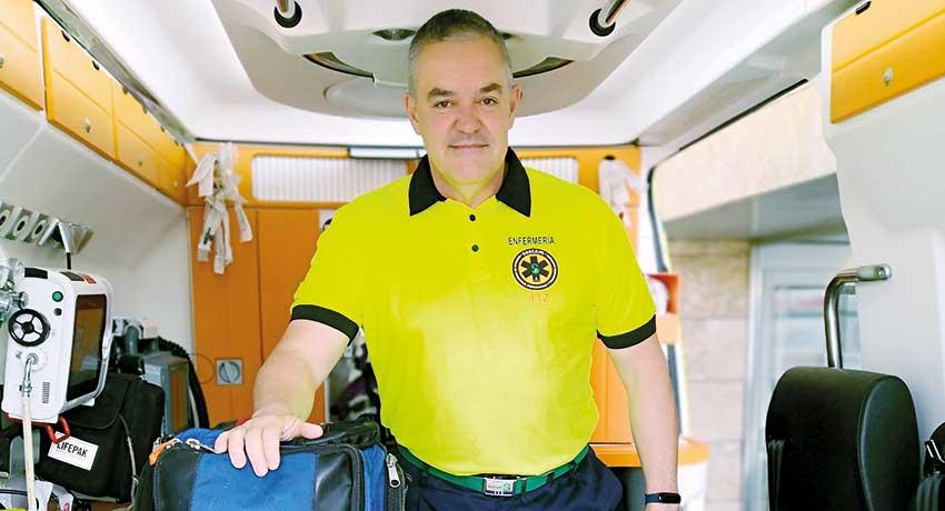 Francisco José Celada, enfermero